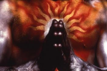 Prayer -- solar Angel